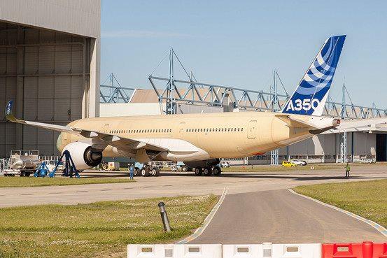 Airbus A350 XWB - Préparatifs au premier vol  Airbus10