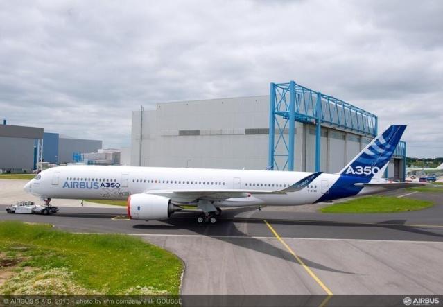 Airbus A350 XWB - Préparatifs au premier vol  Airbus12