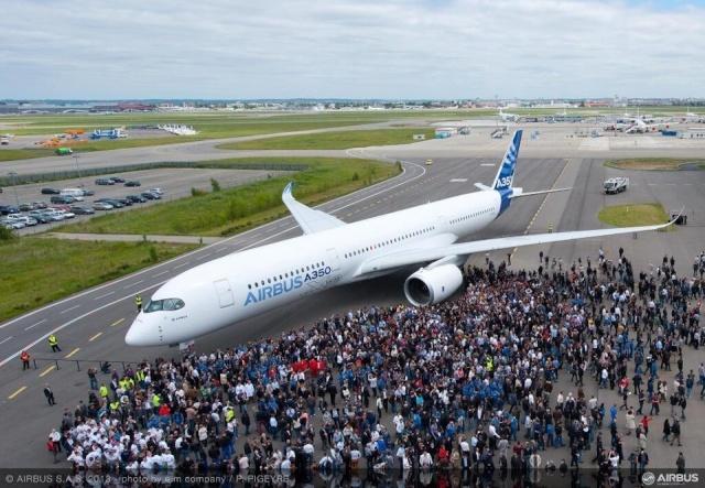 Airbus A350 XWB - Préparatifs au premier vol  Airbus13