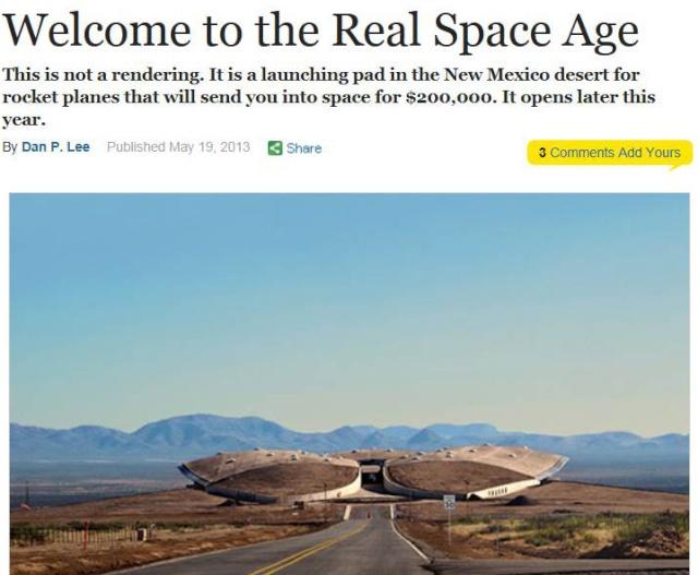 Article sur le ''Futur du vol spatial commercial'' - New York magazine de mai 2013 Artcil11