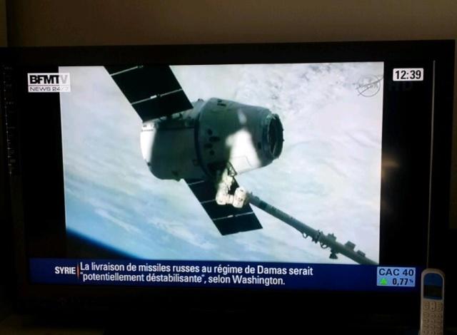 Fuite d'ammoniac à bord de la Station Spatiale Internationale - Segment P6 Bfmtv_10