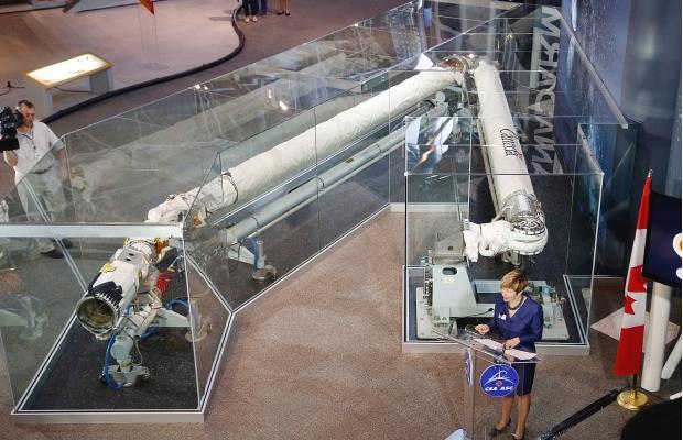 Canadarm - Musée de l'Aviation et de l'Espace d'Ottawa (Canada) Canada13