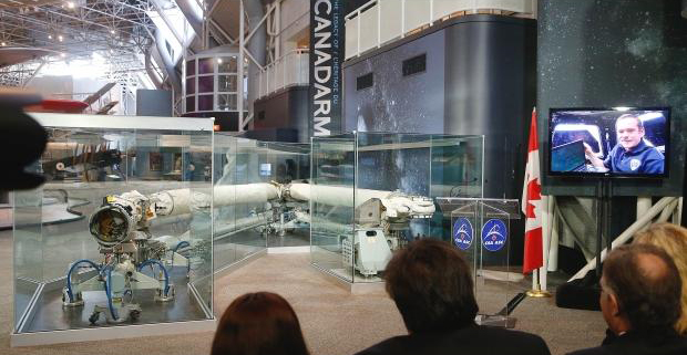 Canadarm - Musée de l'Aviation et de l'Espace d'Ottawa (Canada) Canada14