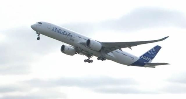Airbus A350 XWB - Préparatifs au premier vol  Capt_h23