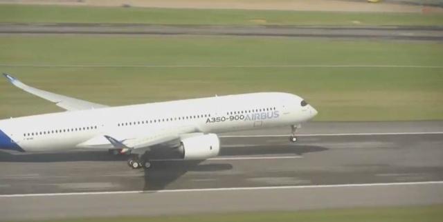 Airbus A350 XWB - Préparatifs au premier vol  Capt_h26