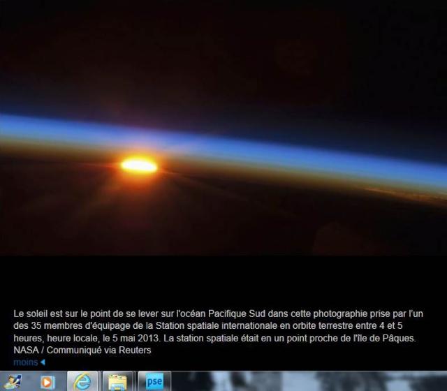 Photo prise par l'ISS à la une rubrique Yahoo mais ... Captur10
