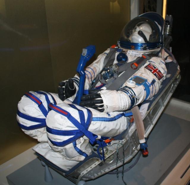 Combinaison d'Helen Sharman, première anglaise dans l'espace - Science Museum de Londres Combin12