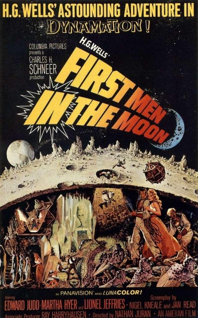 Cinéma - Les Premiers Hommes dans la Lune (1964) - Effets spéciaux de Ray Harryhausen First_13