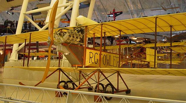 27 avril 1913 - Première traversée Pacifique à l'Atlantique par Robert G. Fowler Fowler11