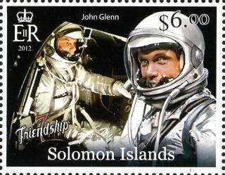 2013 - Série commémorative Friendship 7 et John Glenn par les Iles Salomon Glenn_14