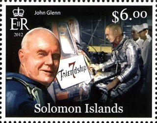 2013 - Série commémorative Friendship 7 et John Glenn par les Iles Salomon Glenn_16