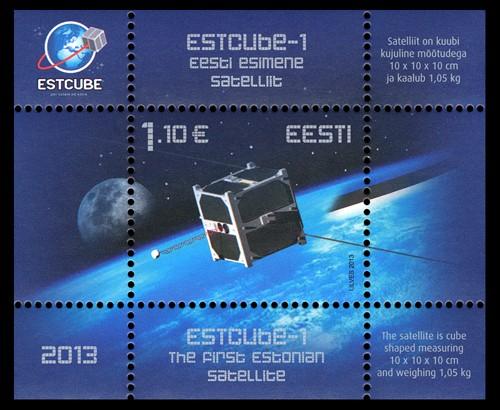 2013 - Emission d'un bloc pour le premier satellite de l'Estonie Img_8410