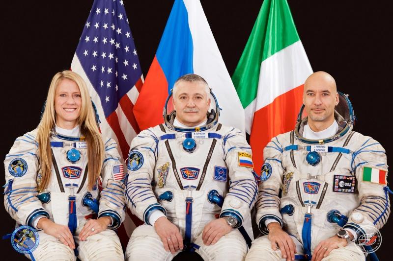 Vol de Luca Parmitano / Expedition 36-37 - VOLARE / Soyouz TMA-9M Jsc20111