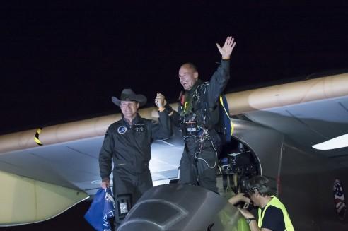 Solar Impulse - 2013 - Traversée des Etats-Unis Landin10