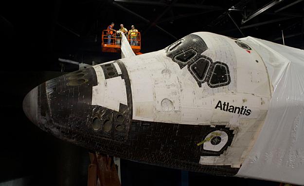 Les navettes spatiales Atlantis et Endeavour au musée Oony0210