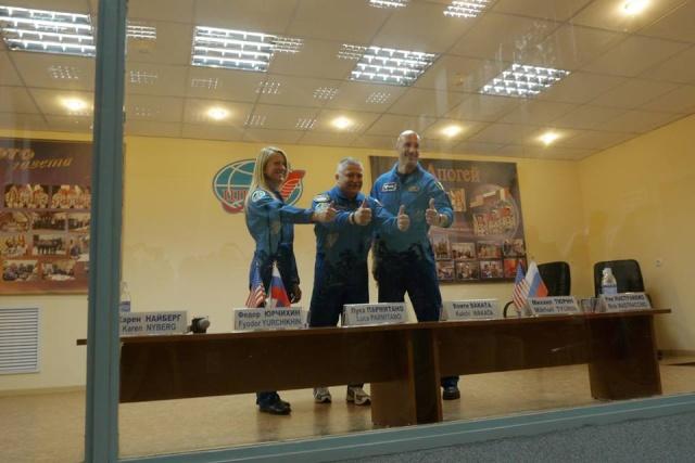 Vol de Luca Parmitano / Expedition 36-37 - VOLARE / Soyouz TMA-9M Parmi_16