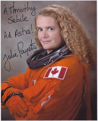 Julie Payette quitte l'Agence Spatiale Canadienne Payett10