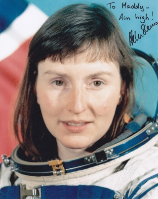 Combinaison d'Helen Sharman, première anglaise dans l'espace - Science Museum de Londres Sharma10