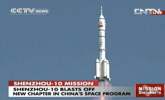 Shenzhou 10 - La mission - (Wang Yaping deuxième chinoise dans l'espace) Shenzh10