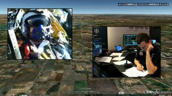 Solar Impulse - 2013 - Traversée des Etats-Unis Solar013