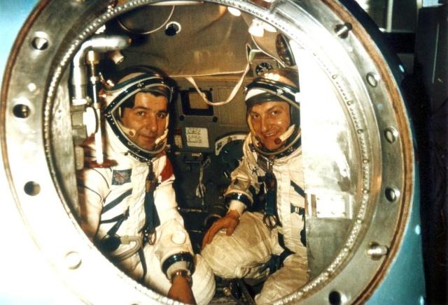 27 juin 1978 - Miroslav Hermazewski devient le premier polonais dans l'espace Soyouz18