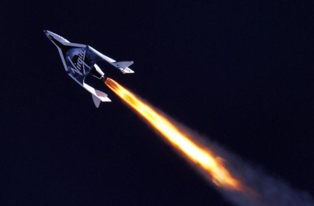 Virgin Galactic se prépare aux premiers essais en vol du réacteur Ss2_vu12