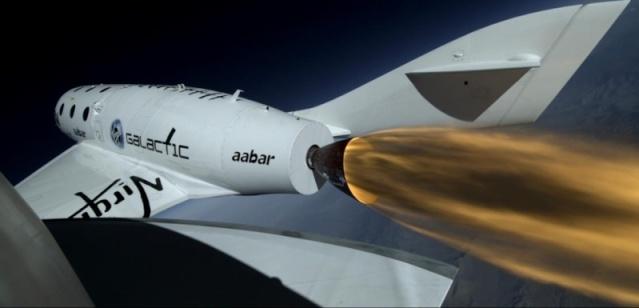Virgin Galactic se prépare aux premiers essais en vol du réacteur Ss2_vu13