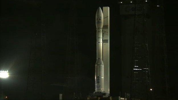 Lancement réussi pour Vega depuis Kourou cette nuit Vega_210