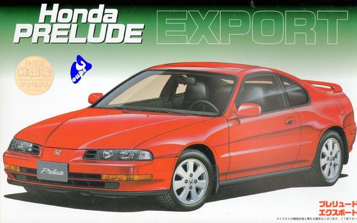 Fujimi Honda Prelude 3G 2.0 Fujimi10