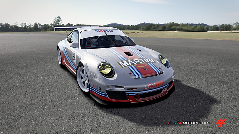 Réplique #88 Porsche Supercup - Team Martini - Sébastien Loeb  Forza-11