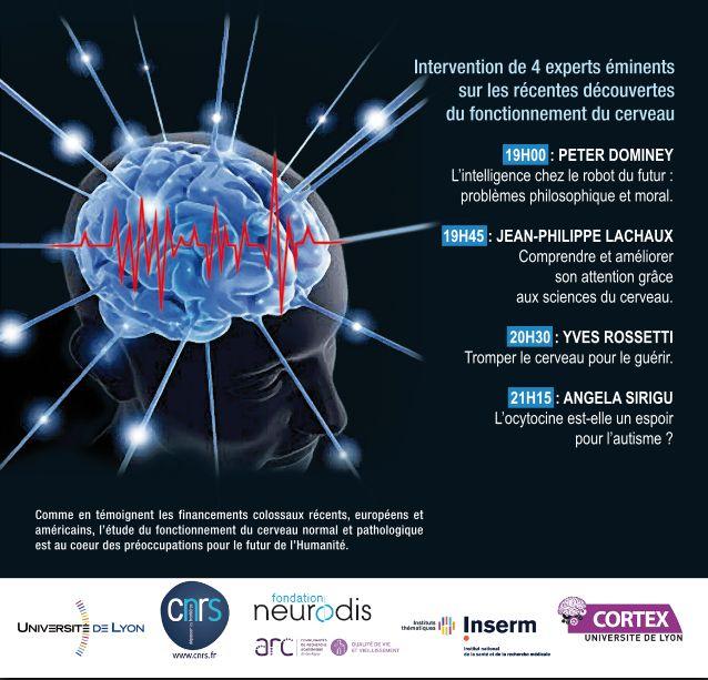 Conférence sur le Cerveau le 5/6 à Lyon Affich11