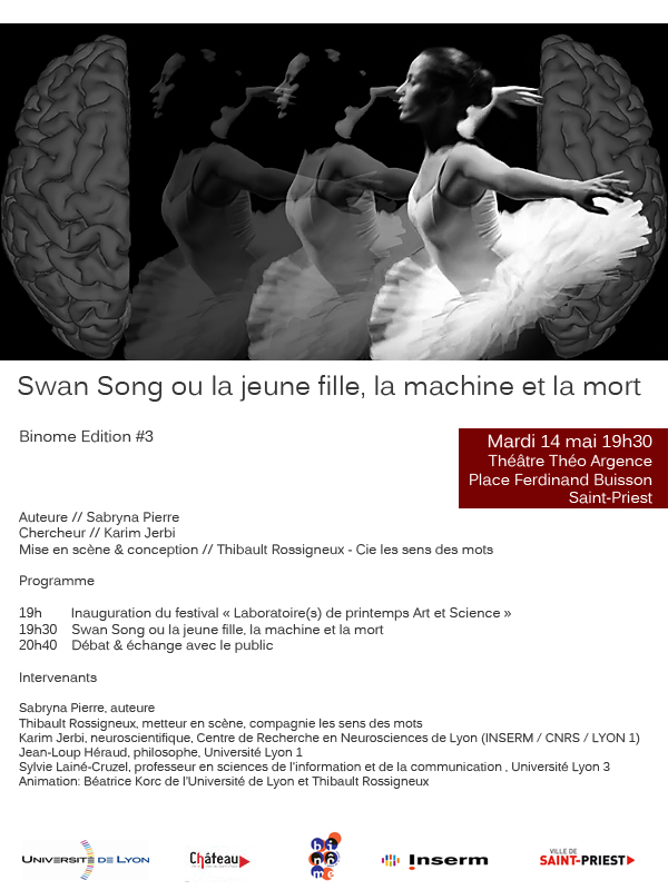 Danse et neurosciences le mardi 14 mai 2013  Flyer-11