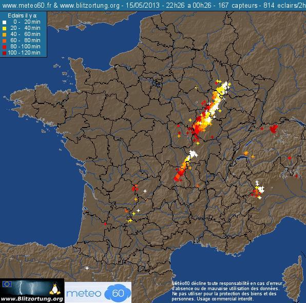 Arcus électrique ! 15 Mai 2013   Villey-st-etienne (54) 96997410