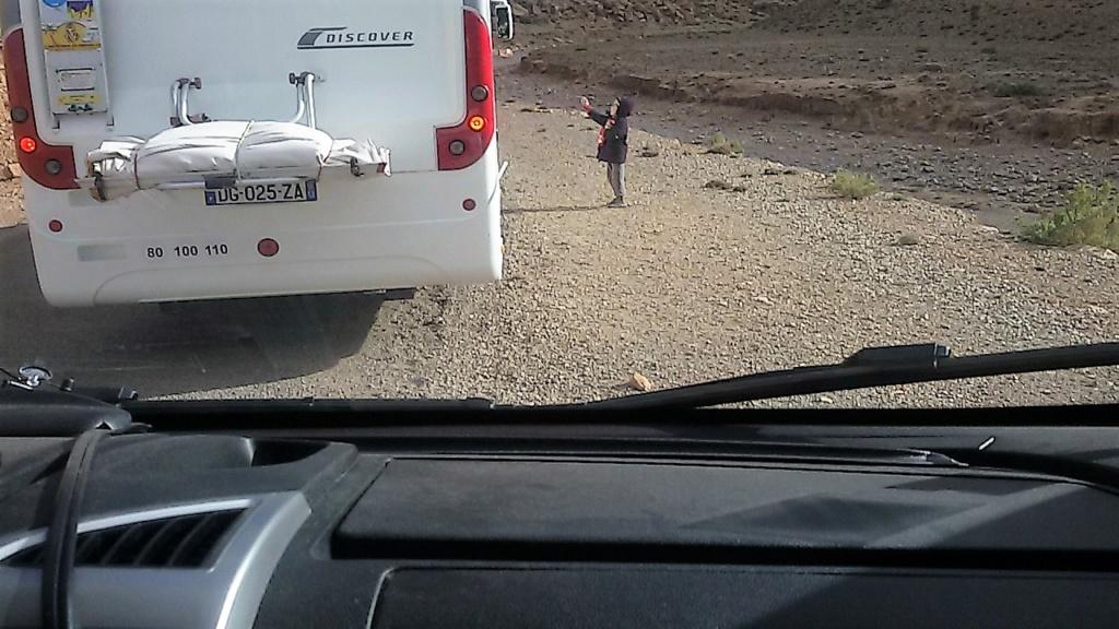 [Carburant, Routes, Police] boucle au  départ de Boulmane du Dadès - Agoudal - tinerhir. 20180318