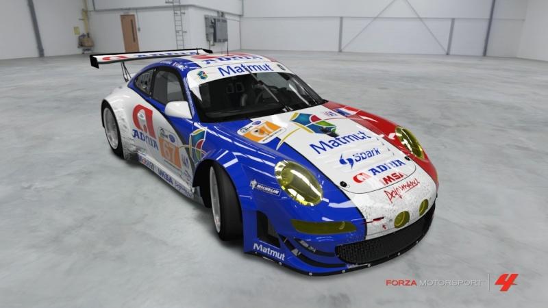 Porsche - 911 GT3 RSR '11 - 24 Heures du Mans  Porsch13