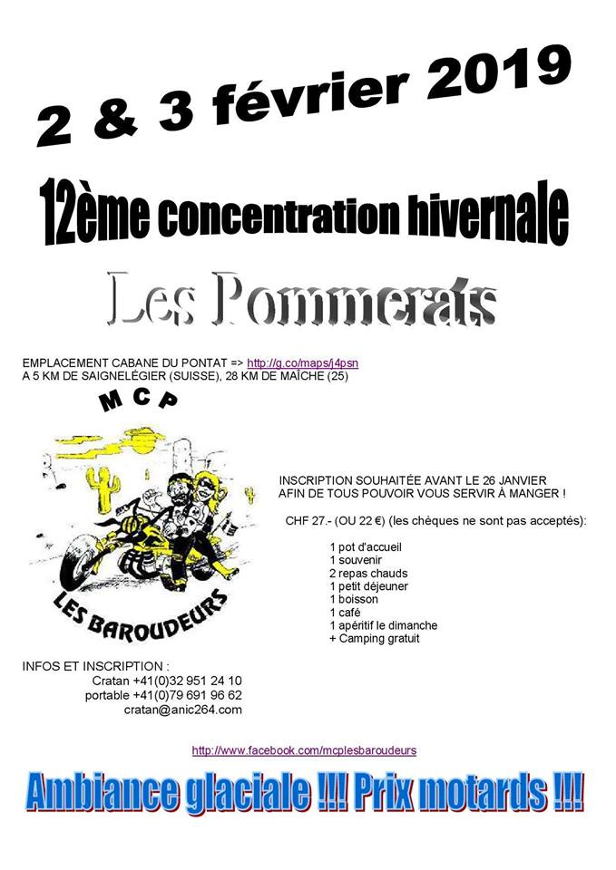 Les Baroudeurs  à Saignelégier  (Suisse) les 2 et  3 février 2019 Baroud10