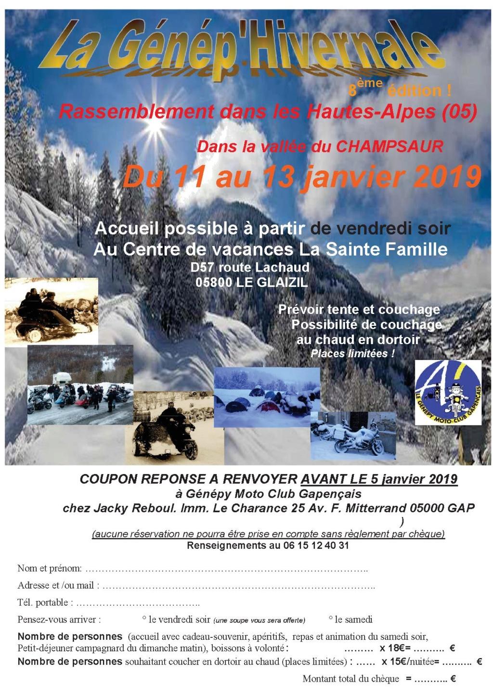La Génép'hivernale  à Le Glaizil (05)  du 11 au 13 janvier 2019 Genep_10