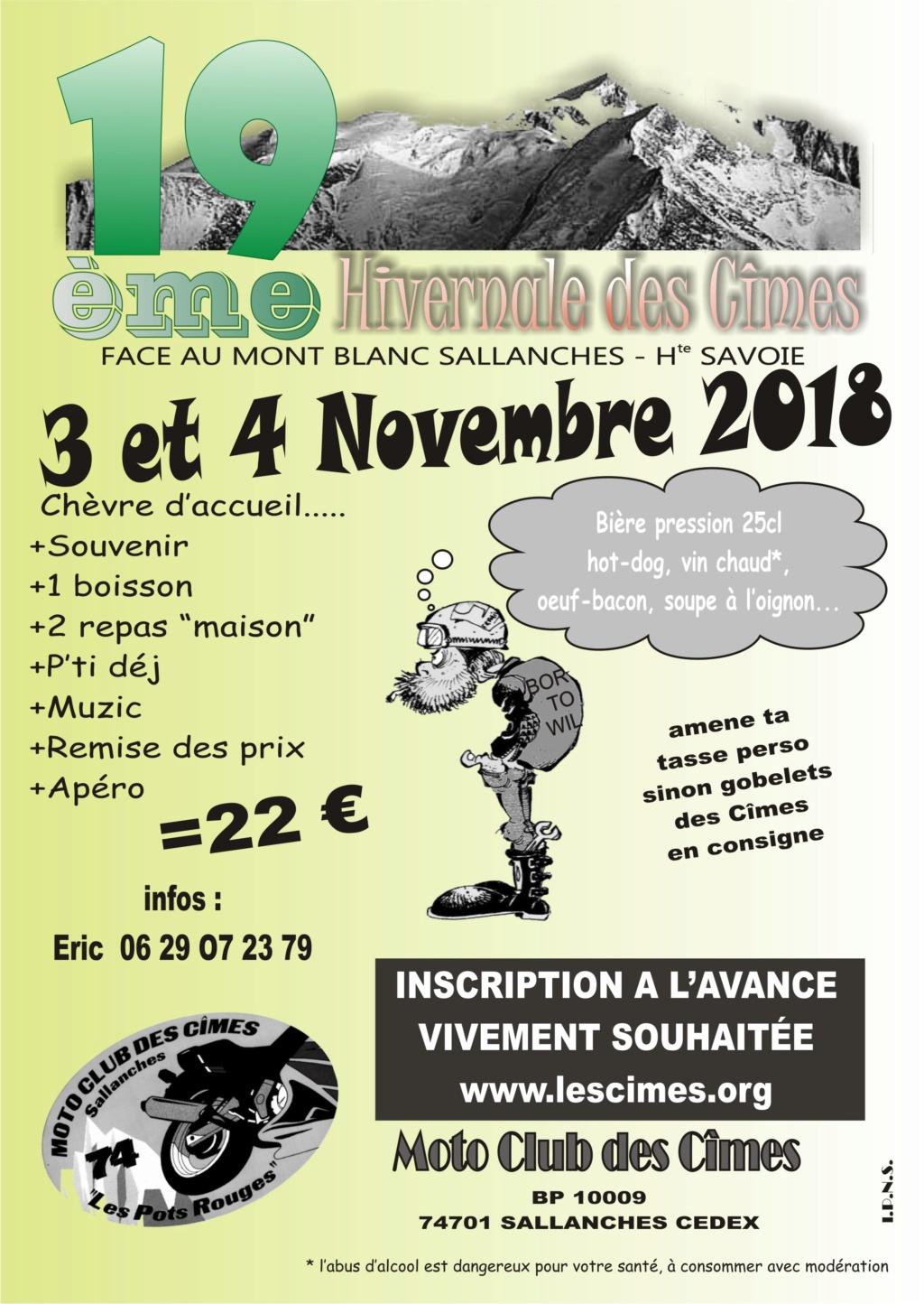 Hivernale des Cîmes  à Sallanches (74) les 3et 4 novembre 2018 Les_ci10