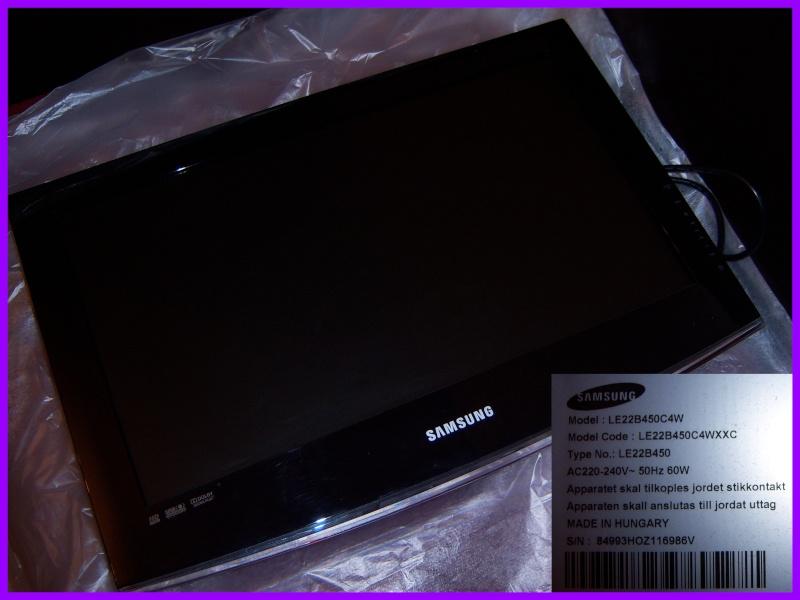 Télé Samsung LCD 22 pouces (Allez-y pourrissez-moi faites-vous plaisir lol) 100_8412