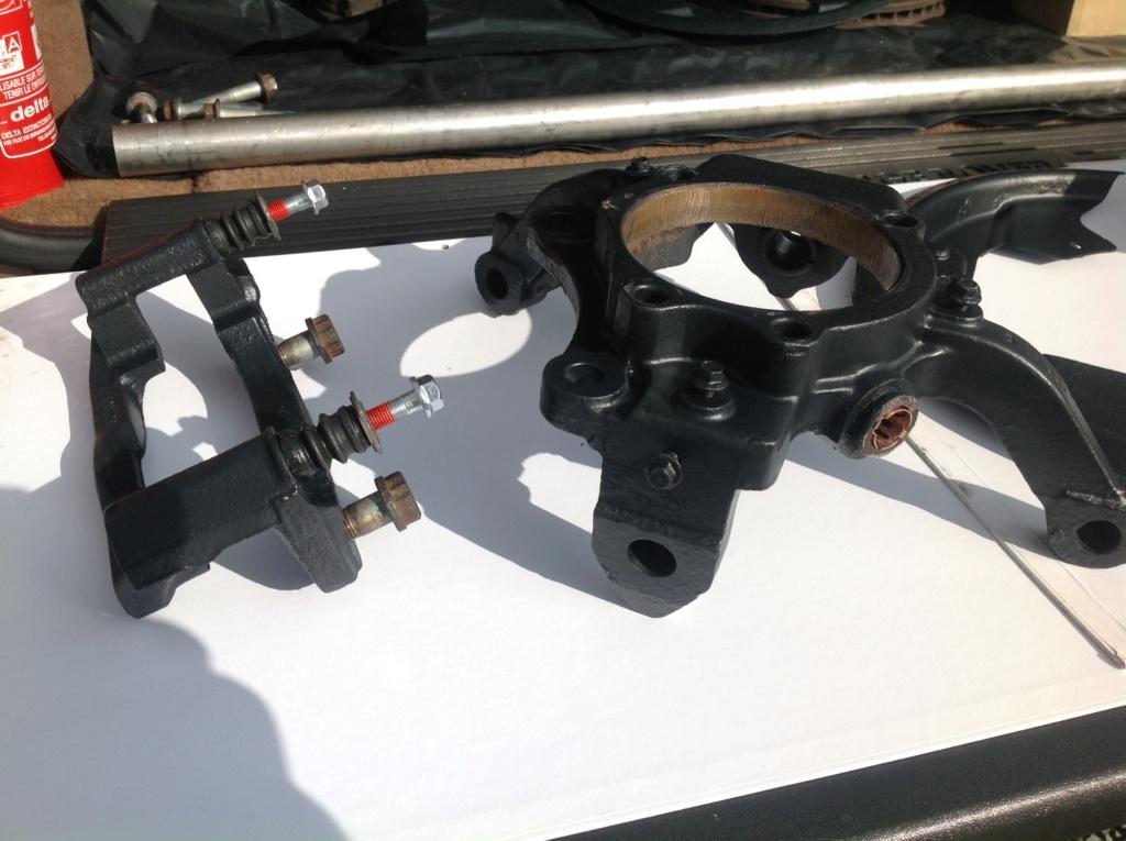 Changement rotules de pivot P38 Image33