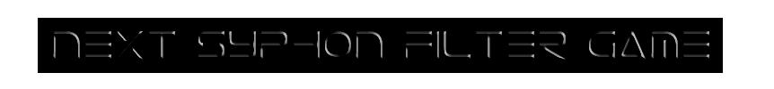 Next Syphon Filter game Next_s10