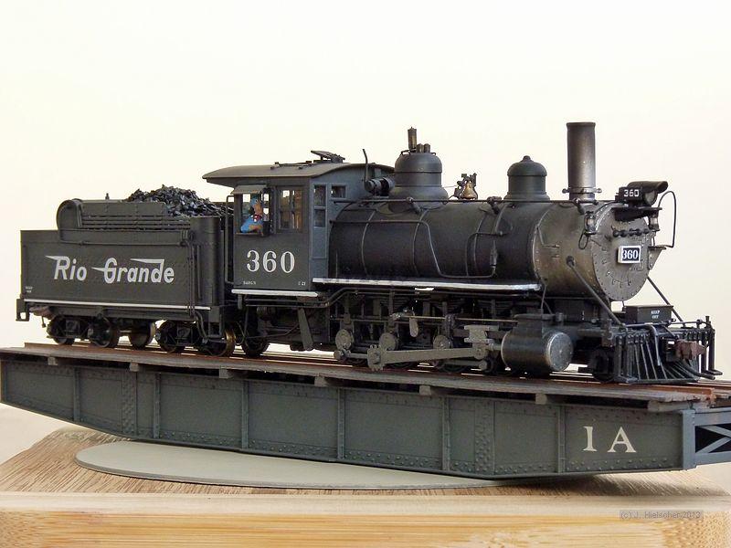 D&RGW 360, Class C-21  (M 1:87, H0n3) P1180510