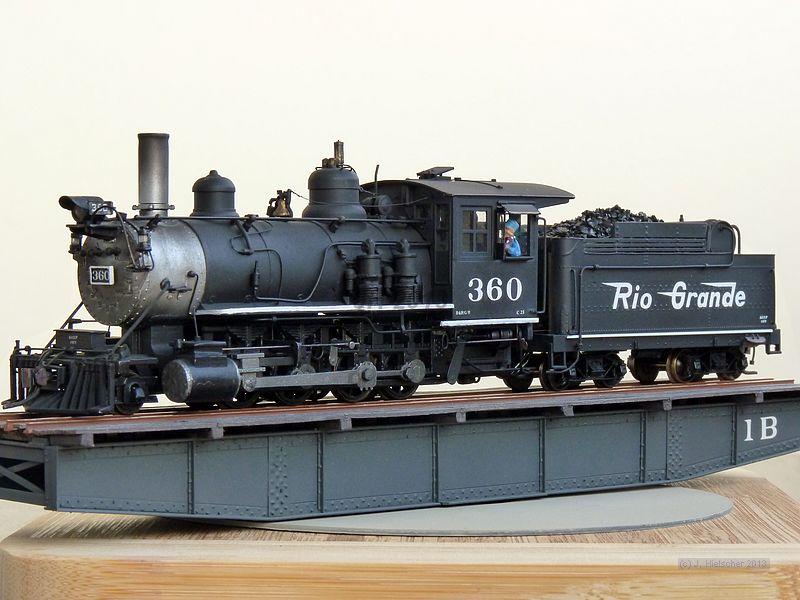 D&RGW 360, Class C-21  (M 1:87, H0n3) P1180511