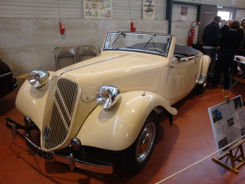 Citroen Traction 15 /6 Cabriolet 1939 Dsc01111