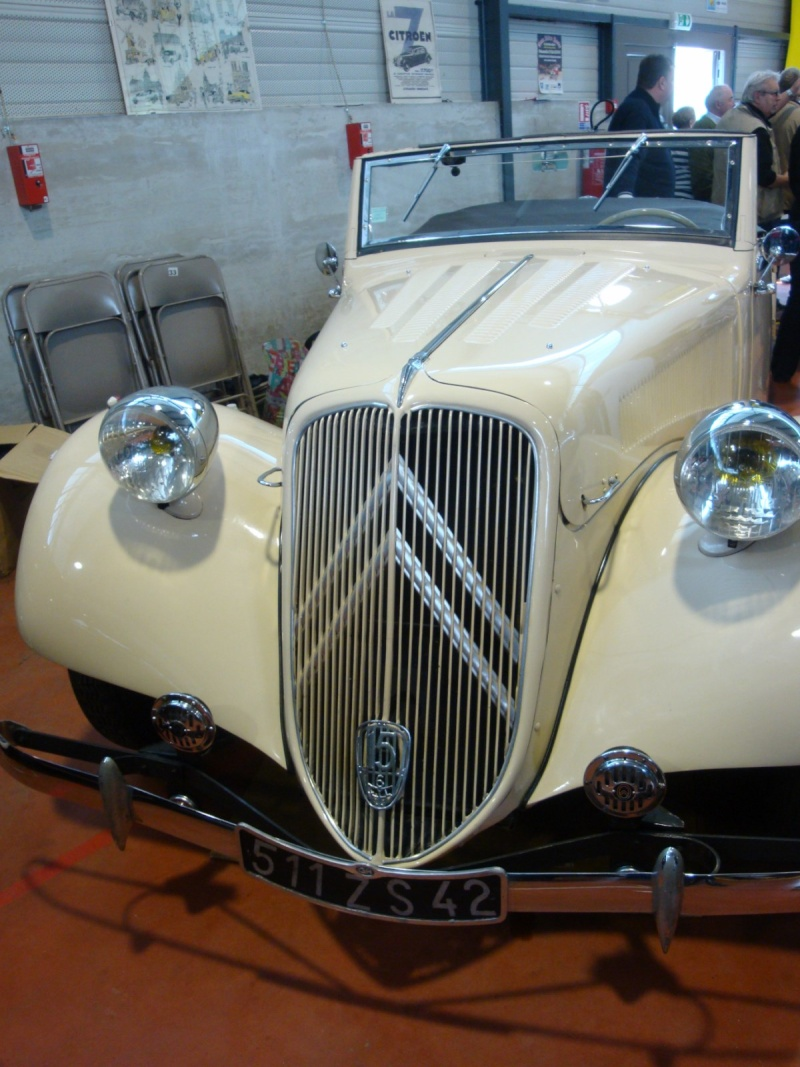 Citroen Traction 15 /6 Cabriolet 1939 Dsc01114