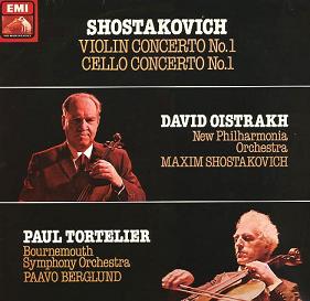 Chostakovitch : les 2 concertos pour violon Chosta11