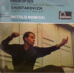 Chostakovitch Symphonie n°1 Row10