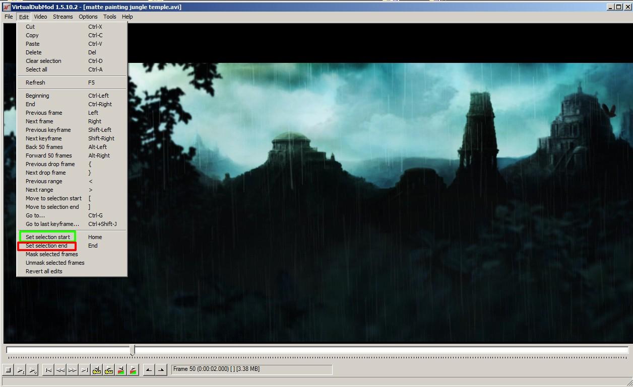 (Post-prod) VirtualDub, couper une vidéo en 2 (ou +) Sans_t21