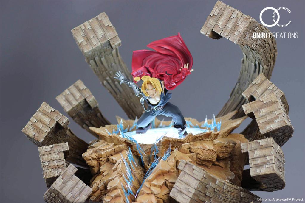 Oniri Créations : Edward Elric Statue (Fullmetal Alchemist) Fma0310