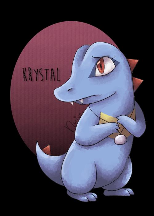 Krystal the Totodile (Colleseum) Krysta10